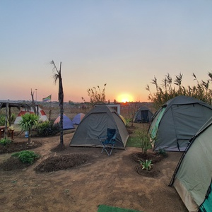 Camping in Soweto